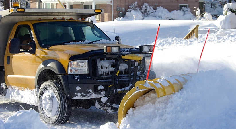 The tools that the best snow removing companies use