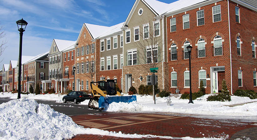 WHAT TO EXPECT FROM SNOW REMOVAL FOR COMMERCIAL BUILDINGS
